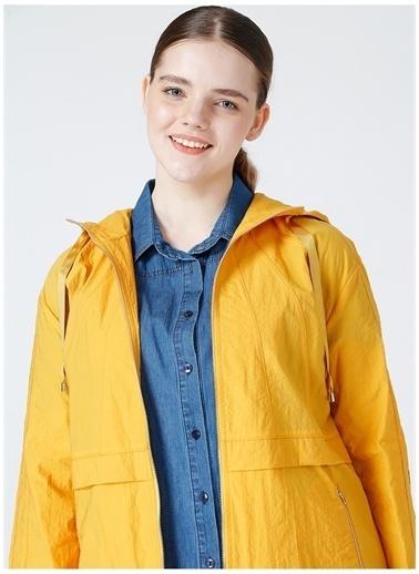 Selen Selen Kadın Sarı Trençkot Sarı